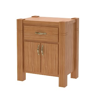 Phoenix Nightstand with Doors