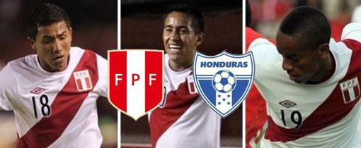 Perú vs. Honduras en VIVO - Amistoso Internacional 2012
