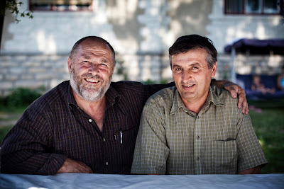 Ghi Capota and Petru Igna, church elders