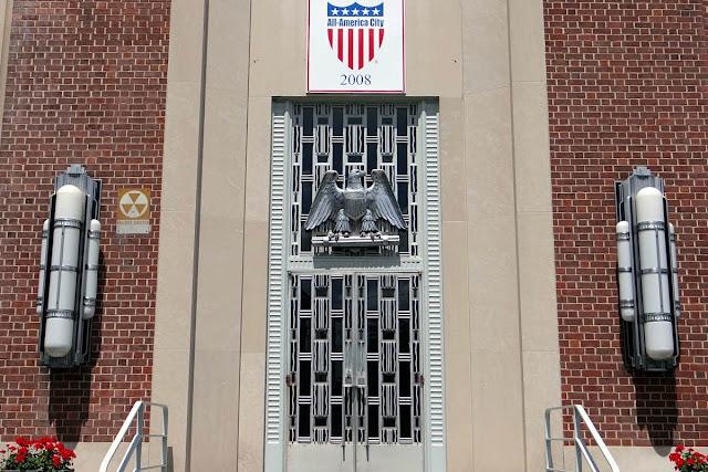 Reidsville, NC Art Deco door
