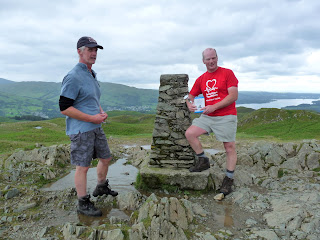 Richard completes his 214th Wainwright Fell on Loughrigg Fell