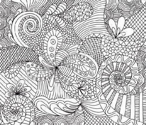 abstract design coloring pages - Coloring Pages Abstract Designs