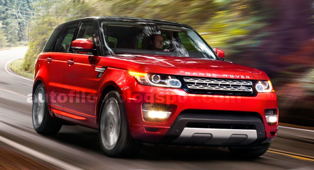Are These the First Official Photos of the New 2014 Range Rover Sport?