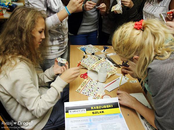 Warsztaty Kaszubski Szlak - zajęcia praktyczne