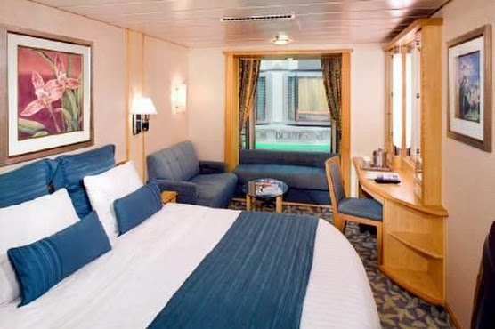 Mariners of the Sea - Promenade View Stateroom ( Cabin )