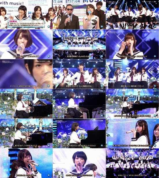 (TV-Music)(1080i) 乃木坂46 Part – Music Station 150123