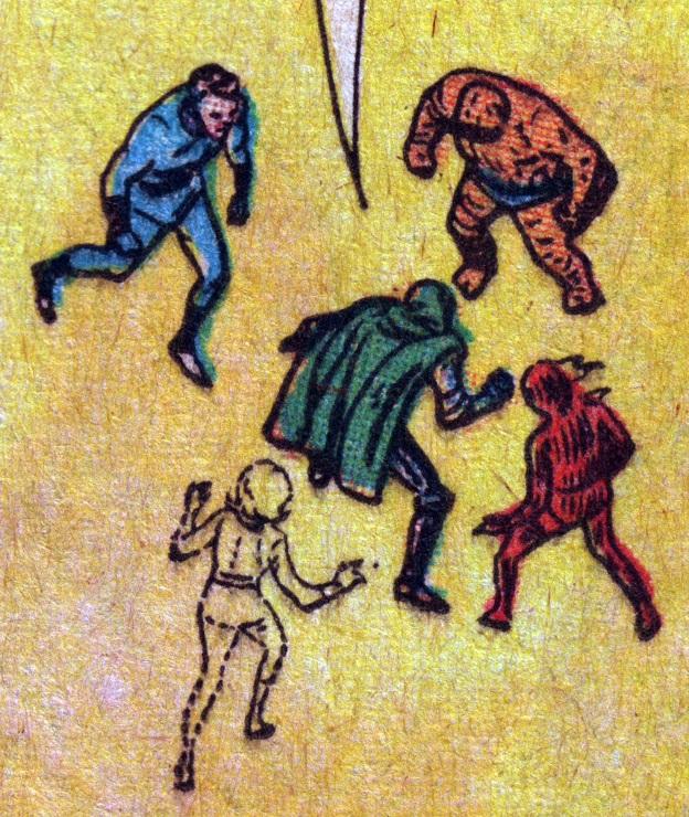 Impresión a color imperfecta en los cómics clásicos