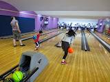 Eidan and Nao bowling