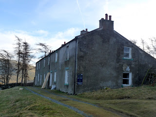 Skiddaw House. This is now being used as a Youth Hostel.