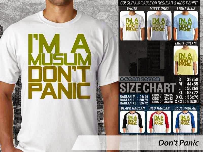 KAOS Muslim Islam Dont Panic distro ocean seven