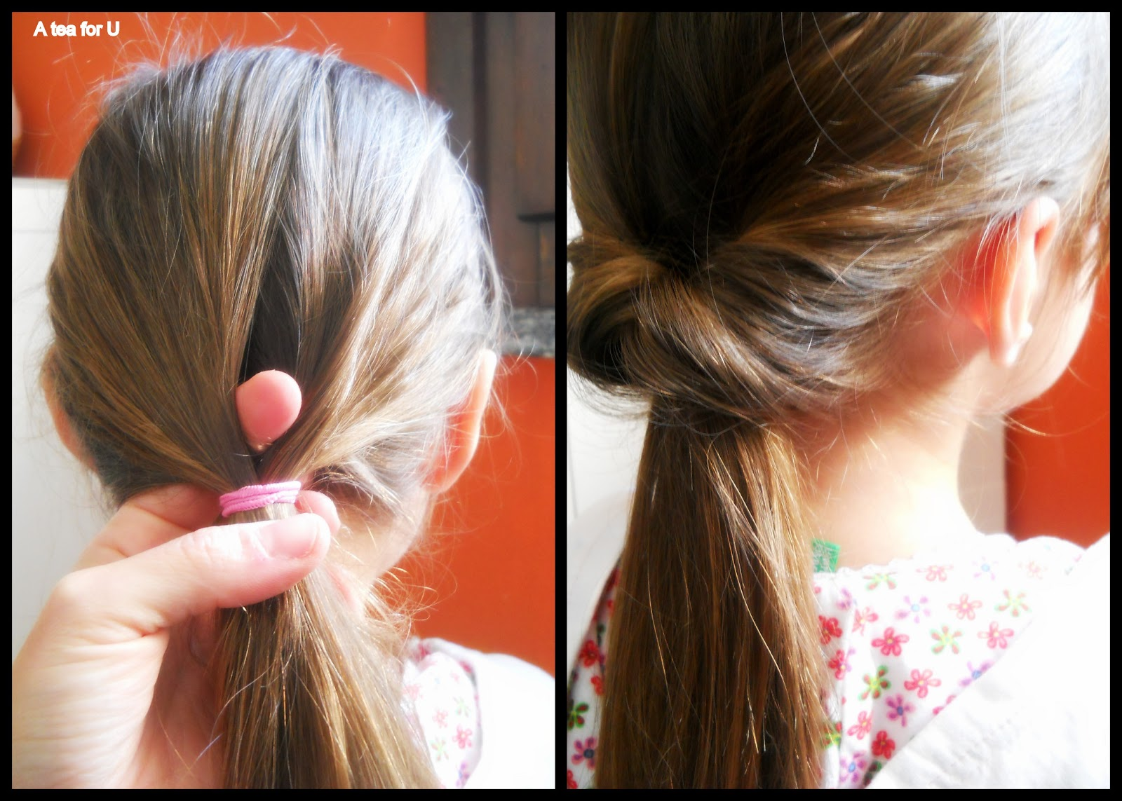 Acconciature facili capelli corti bambina