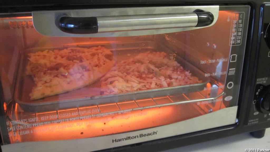 Pizza in Mini-Oven