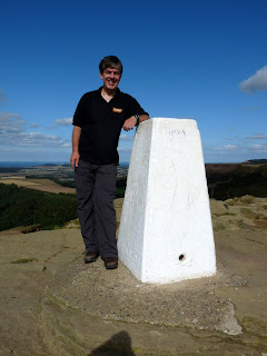 Me at Roseberry Topping Summit