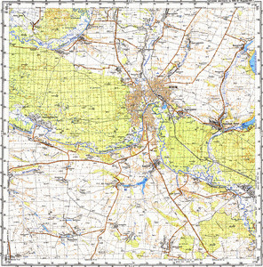 Map 100k--m37-099--(1987)
