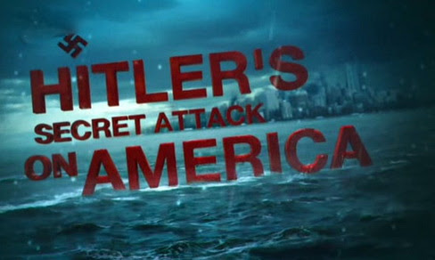 Atak Hitlera na Amerykê / Hitler's Secret Attack On America (2012)  PL.TVRip.XviD / Lektor PL