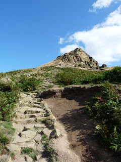 Stony path to Roseberry Topping