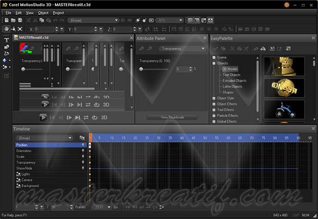 Corel MotionStudio 3D 1.0