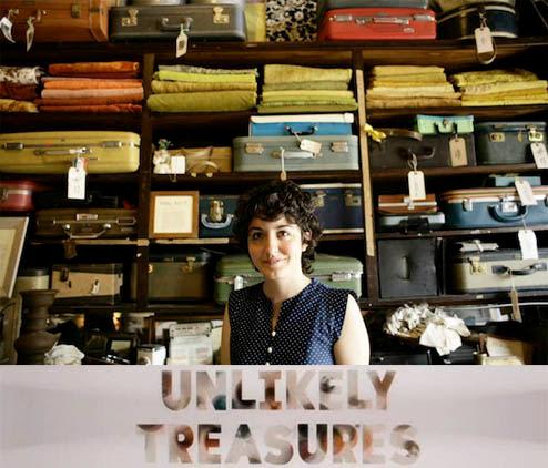Skarby nie z tej ziemi / Unlikely Treasures (2010) PL.TVRip.XviD / Lektor PL
