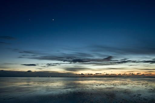 Venus am Nachthimmel