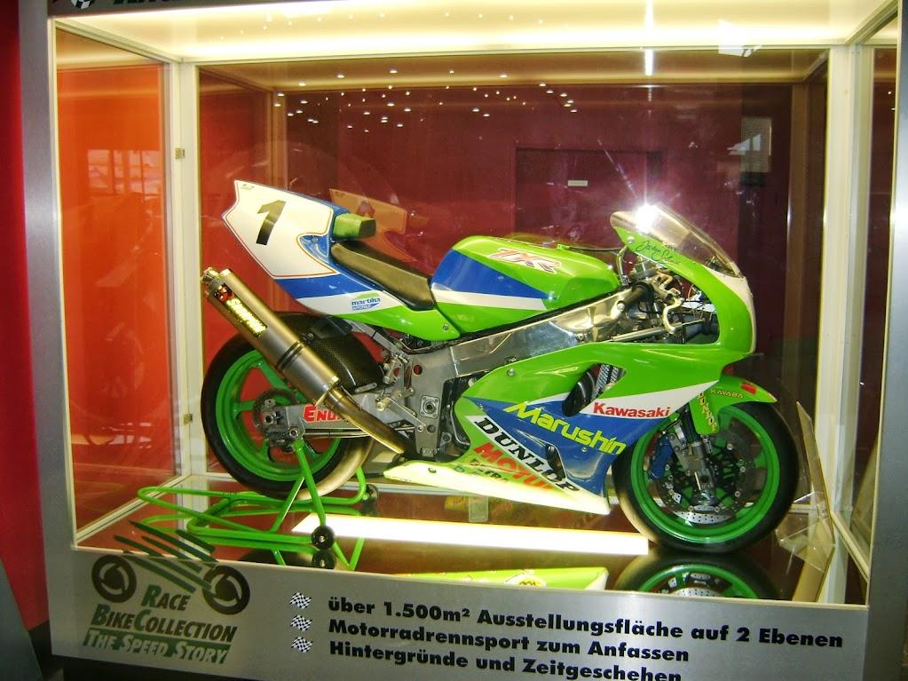 Kawasaki Rennmaschine
