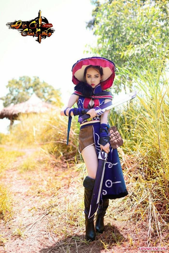 Bộ cosplay Độc Cô Cửu Kiếm đầy ngẫu hứng - Ảnh 11