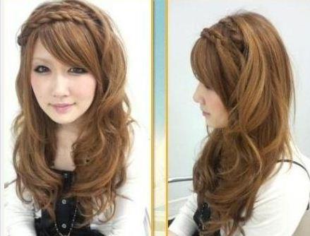 Peinados casuales para pelo largo liso