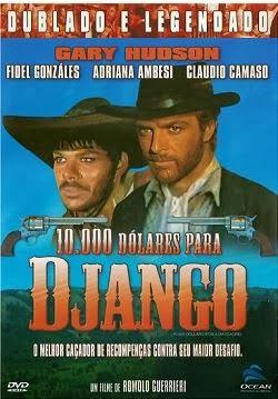 10000 dólares para Django Capa