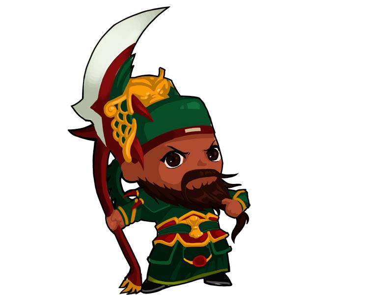 Loạt hình chibi dễ thương của các võ tướng Củ Hành