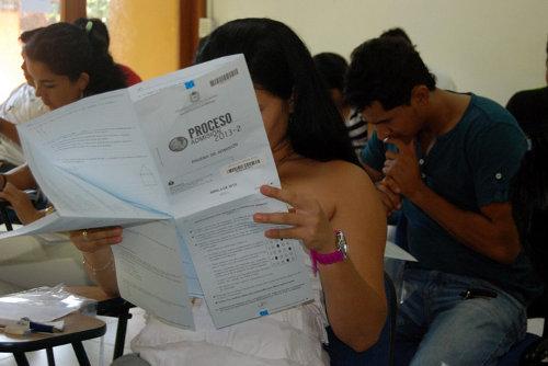 Jornada Examen de admisión Universidad Nacional de Colombia 2013