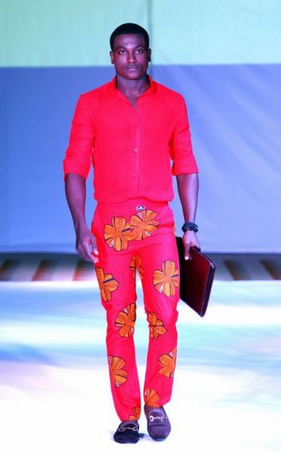 Orange Culture from Nigeria [men's fashion]