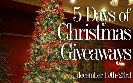 5 Days of Christmas Giveaways
