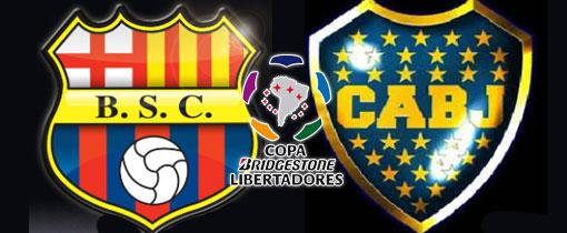 Barcelona vs. Boca Juniors en Vivo - Copa Libertadores