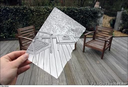 pen art vs camera