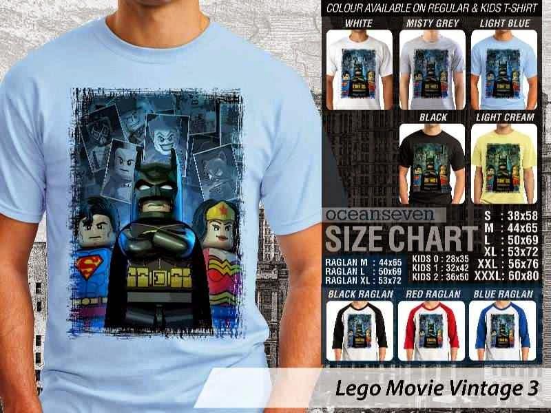 Jual Jual KAOS lego Superman Batman Wonder Woman distro ocean seven