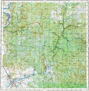 Уменьшенное изображение Карта 200k--m52-23