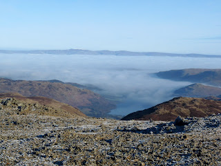 Ullswater and the Pennines. I am so glad I am not driving up the M6!!