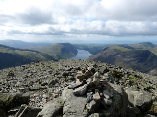 Wastwater from Great Gable Summit