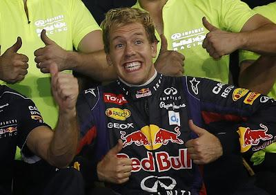 Себастьян Феттель рад победе на Гран-при Абу-Даби 2013