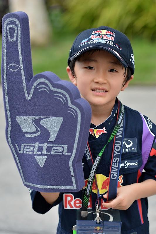 супер-болельщик Kota на Гран-при Малайзии 2013