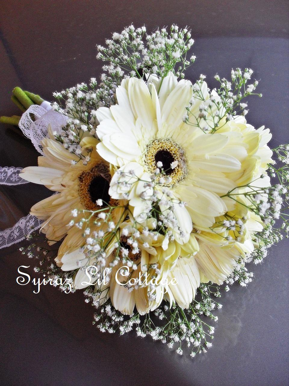 gerbera wedding bouquets