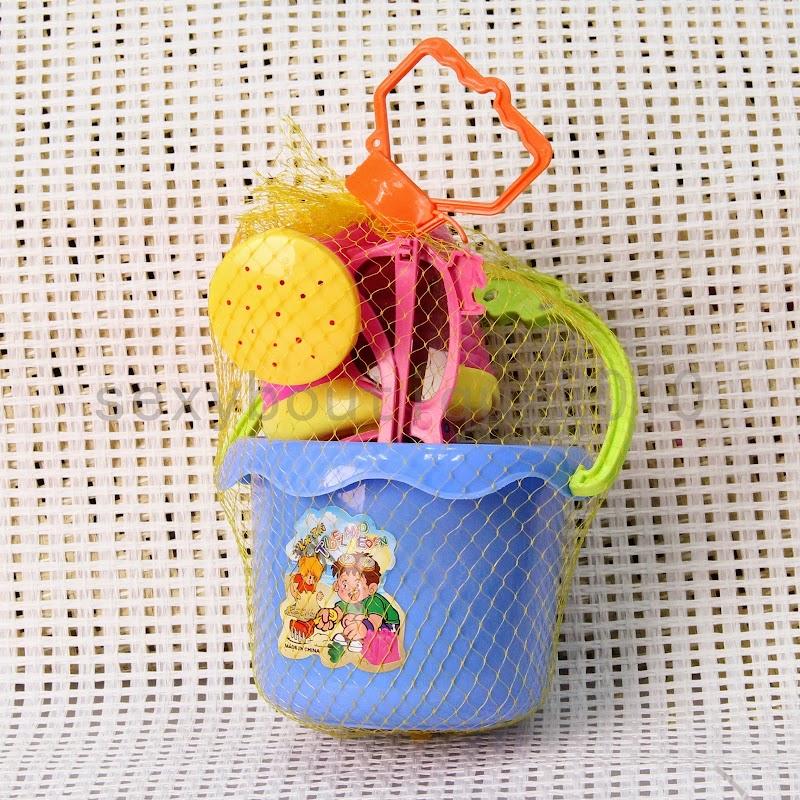 Baño Infantil La Pala:Sand Castle Beach Toy Bucket