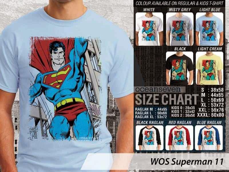 KAOS superman 11 Movie Series distro ocean seven