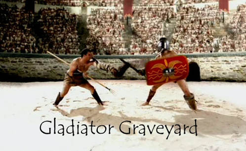Cmentarz gladiatorów / Gladiator Graveyard (2007) PL.TVRip.XviD / Lektor PL