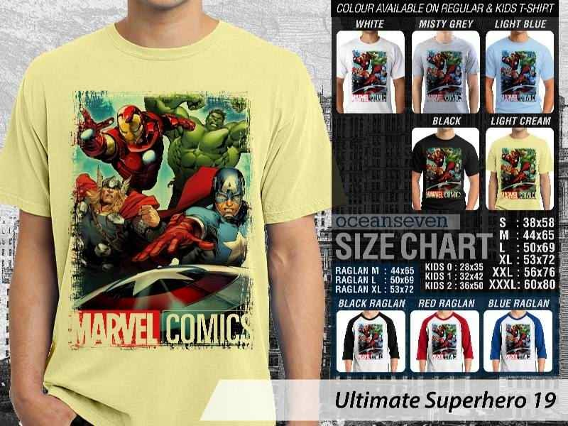 KAOS marvel hulk captain america thor ironman 19 Ultimate Superhero distro ocean seven