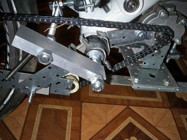 Вариаторный/8-ми ск. мотовел на базе Honda GXH 50