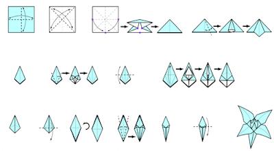 Как сделать из оригами цветок лилия