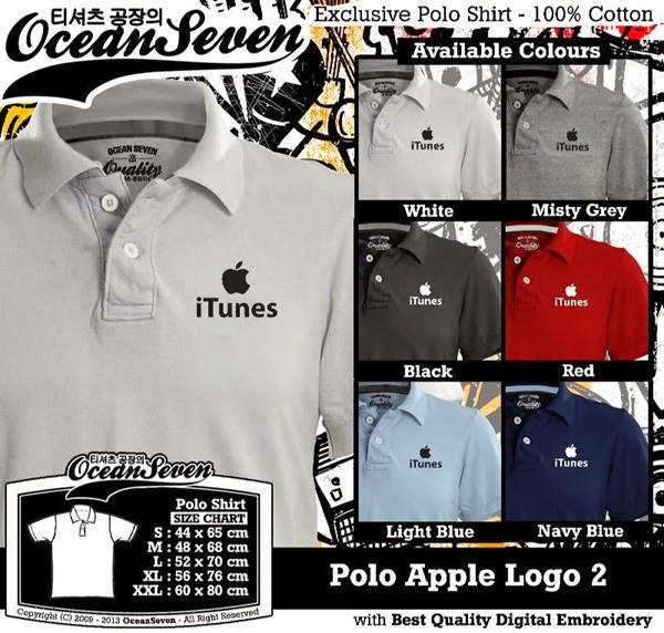 POLO Apple Logo 2 IT & Social Media distro ocean seven