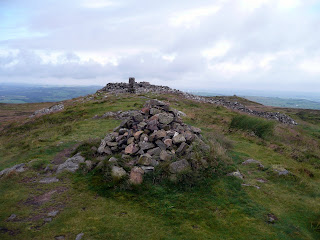 Binsey Summit Cairn and Trig Point