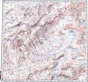 Catalog Of Maps Russian Army Maps For The World Page - Us government map of mongolia 1 500000