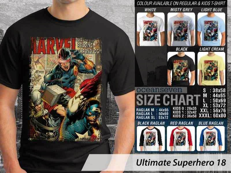 KAOS marvel thor captain america 18 Ultimate Superhero distro ocean seven